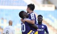 CLB Hà Nội thắng đậm Yangon United nhờ sự toả sáng của các ngoại binh.