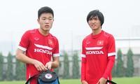 Lương Xuân Trường và Nguyễn Tuấn Anh tái hợp ở đội tuyển Việt Nam.