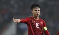 Quang Hải đang có hiệu suất ghi bàn thấp ở V-League nhưng vẫn là hy vọng của đội tuyển Việt Nam tại King's Cup 2019.