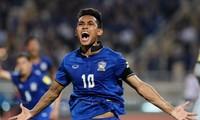 Teerasil Dangda chưa chắc chắn khả năng ra sân ở trận đấu của Thái Lan với Việt Nam.