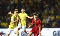 Văn Toàn đã có một trận đấu xuất sắc trước đội tuyển Thái Lan.