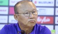 HLV Park Hang Seo đứng trước nguy cơ thiếu nhiều cầu thủ quan trọng vì chấn thương.
