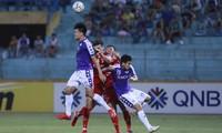 CLB Hà Nội đánh bại Bình Dương giành chiến thắng thứ 3 liên tiếp trước Bình Dương (ảnh Như Ý) .
