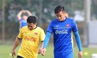 Quế Ngọc Hải chấn thương sau trận đấu của đội tuyển Việt Nam với Thái Lan tại Vòng loại World Cup 2022.