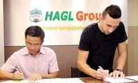 HAGL củng cố hàng phòng ngự bằng bản hợp đồng với trung vệ Damir Memovic từ SLNA.