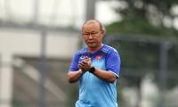 HLV Park Hang Seo đặt mục tiêu đưa U23 Việt Nam dự Olympic Tokyo 2020.
