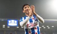 Văn Hậu vừa có trận ra mắt trong đội 1 CLB Heereveen ở cúp Quốc gia Hà Lan.