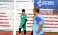 HLV Park Hang Seo không dùng Bùi Tiến Dũng ở các lượt trận cuối SEA Games 30.