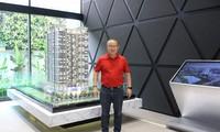 HLV Park Hang Seo mua nhà mới tại Hà Nội.