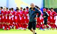 HLV Park Hang Seo đang nhàn việc nhưng sẽ rất bận rộn ở giai đoạn cuối năm.