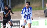 Văn Hậu dự bị dù nhận lương cao thứ 4 ở Heerenveen.