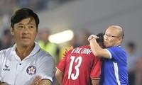 HLV Lê Huỳnh Đức cho rằng nếu ông Park Hang Seo dẫn dắt đội bóng ở V-League hoặc hạng Nhất thì cũng sẽ sử dụng ngoại binh ở vị trí tiền đạo.