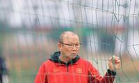 HLV Park Hang Seo sẽ có dịp đánh giá lại lực lượng sau 1 năm liền không thể tập trung các ĐTQG vì dịch COVID-19 (ảnh Anh Tú)