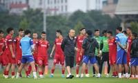 Đội tuyển Việt Nam và ông Park sẽ thi đấu các loạt trận cuối Vòng loại thứ 2 World Cup 2022 tại UAE.
