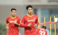 Công Phượng lỡ trận đầu của tuyển Việt Nam tại Vòng loại thứ 3 World Cup 2022 vì việc gia đình. (ảnh Hữu Phạm)