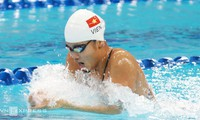 Ánh Viên được tập huấn dài hạn tại Mỹ để chuẩn bị cho SEA Games 29. Ảnh: Đức Đồng.