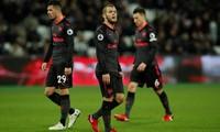 Bị West Ham chia điểm, Arsenal rớt xuống thứ bảy