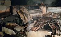 Hiện trường vụ cháy biệt thự cổ ở Đà Lạt, làm 5 người tử vong