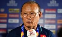 U23 Việt Nam bị loại ở giải châu Á, thầy Park nhận trách nhiệm