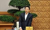Phó Thủ tướng Vũ Đức Đam đề nghị Đoàn cần phát động đoàn viên thi đua khai báo y tế cho mình và người thân. Ảnh: Xuân Tùng