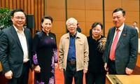 Bà Nguyễn Thị Kim Ngân tiếp tục điều hành kỳ họp cho đến khi Quốc hội bầu được Chủ tịch mới