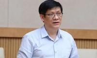 Bộ trưởng Bộ Y tế Nguyễn Thanh Long. Ảnh Như Ý