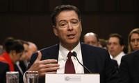 Ông James Comey cung cấp lời khai trước Ủy ban Tình báo Thượng viện. Ảnh: Reuters