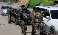 Lực lượng Philippines tuần tra tại Marawi. Ảnh: Reuters