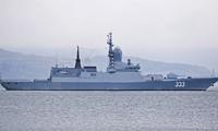 Tàu hộ vệ Sovershenny của Hạm đội Thái Bình Dương Nga. Ảnh: Sputnik