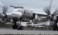Máy bay ném bom chiến lược Tu-95MS. Ảnh: Sputnik