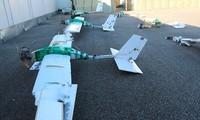 Các máy bay không người lái được sử dụng trong vụ tấn công hai cơ sở quân sự của Nga ở Syria. Ảnh: Bộ Quốc phòng Nga