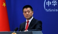 Phát ngôn viên Bộ Ngoại giao Trung Quốc Lục Khảng. Ảnh minh hoạ