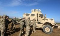 Quân đội Mỹ tại chiến trường Syria. Ảnh: AFP