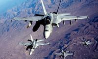 Tiêm kích F/A-18 của Mỹ. Ảnh minh hoạ