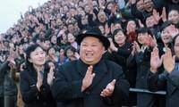 Bình Nhưỡng bất ngờ gửi thông điệp kêu gọi thống nhất đến toàn Bán đảo Triều Tiên. Ảnh: KCNA
