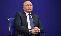 Tổng thống Nga Vladimir Putin chỉ trích Danh sách Kremlin của Mỹ. Ảnh: Sputnik
