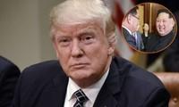 Ông Trump thận trọng về đàm phán phi hạt nhân hoá với Triều Tiên