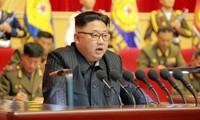 Chủ tịch Triều Tiên Kim Jong-un chưa phản hồi gì về việc ông Trump đồng ý lời mời gặp mặt trực tiếp của ông. Ảnh: KCNA