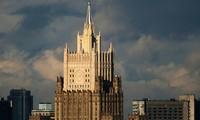 Toà nhà Bộ Ngoại giao Nga. Ảnh: Sputnik