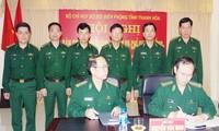 Bàn giao chức trách nhiệm vụ Chỉ huy trưởng Bộ đội Biên phòng Thanh Hóa.