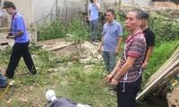 Nghi can tham gia phi tang xác nữ sinh Điện Biên thực nghiệm tại hiện trường
