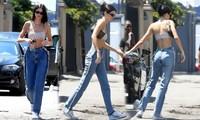 'Siêu mẫu đắt giá nhất 2018' thả dáng quyến rũ khó cưỡng trên phố