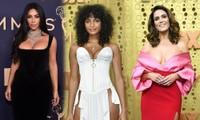 Kim Kardashian và loạt sao nữ o ép vòng một 'khủng' trên thảm đỏ Emmy