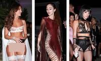 Dàn mỹ nhân diện nội y xuyên thấu dự tiệc Halloween của Paris Hilton