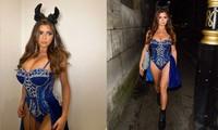 'Kim Kardashian nước Anh' xuống đường nóng bỏng dịp Halloween