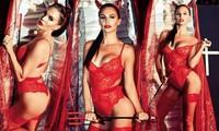 Cựu Hoa hậu Anh tự tin diện nội y ren hoá 'quỷ đỏ' hậu phẫu thuật thẩm mỹ