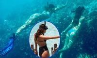 'Thiên thần' Brazil hút hồn với bikini cut-out sexy tại Maldives