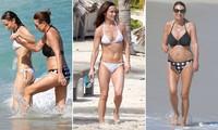 Tự tin diện bikini hai mảnh tuổi U70, mẹ Công nương Kate nhận 'mưa' lời khen