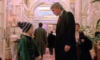 """Cảnh phim có Tổng thống Trump trong """"Ở nhà một mình 2""""."""