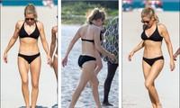 Giọng ca '50 sắc thái' diện bikini hai mảnh, khoe body săn chắc trên bãi biển